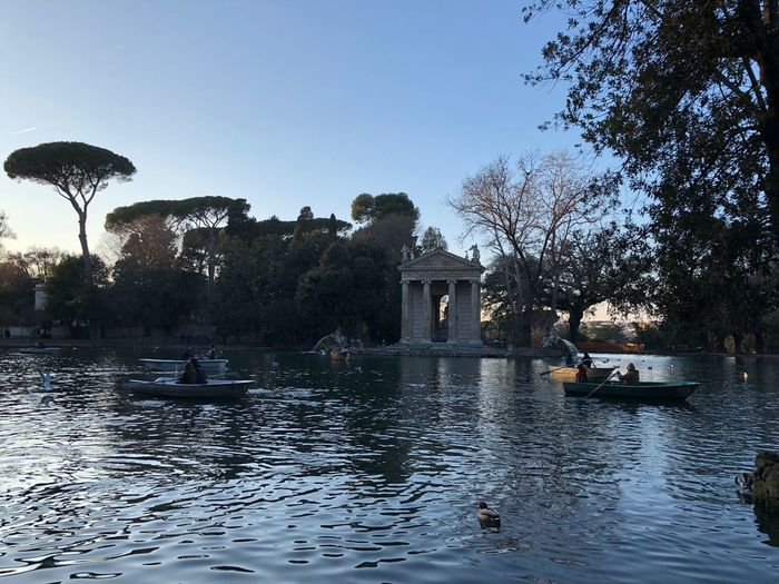 Rome Water Reflection Outdoors Nature Architecture Tranquility Lost in the Landscape