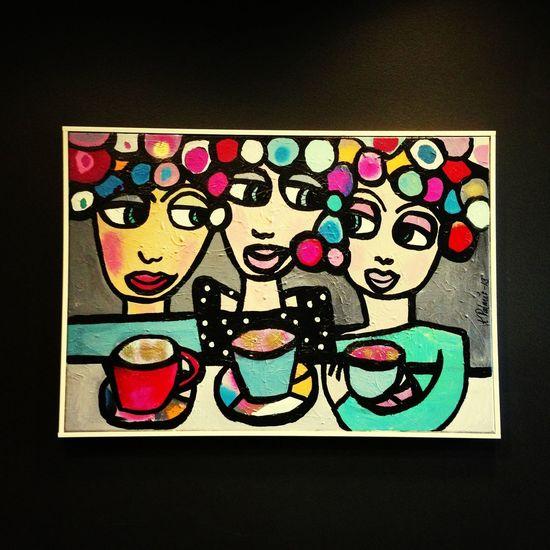 älskar Karolina Palmérs konst. Vernissage Art igår.