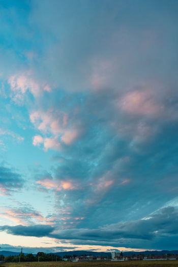 Cloud - Sky Sky Beauty In Nature Scenics - Nature Nature No People Tranquil Scene Tranquility Architecture Sunset Built Structure City Outdoors Dramatic Sky Building Exterior Day Idyllic Overcast Environment Ominous