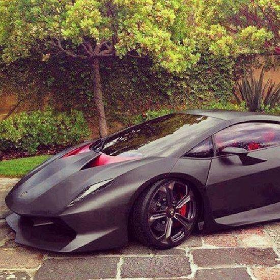Lamborghini Matteblack Carporn Nature modified