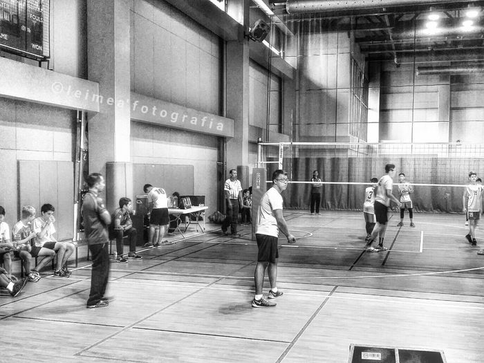 Go ISM! Fight, fight, fight! Go Coach Joma! Volleyballgame Chance Goforthewin Sports Shades Of Grey Photography Snapseed HDR Leimeafotografia Eyeem Philippines