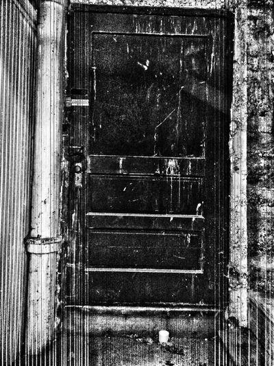 Portland Oregon Usa Doorway Doors With Stories Darkness And Light