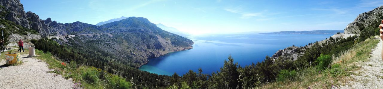 Sea Water Nature Kroatia Sommer Landskape Panorama HD Beautyful Sky Bluesky Enjoying Life Traveling