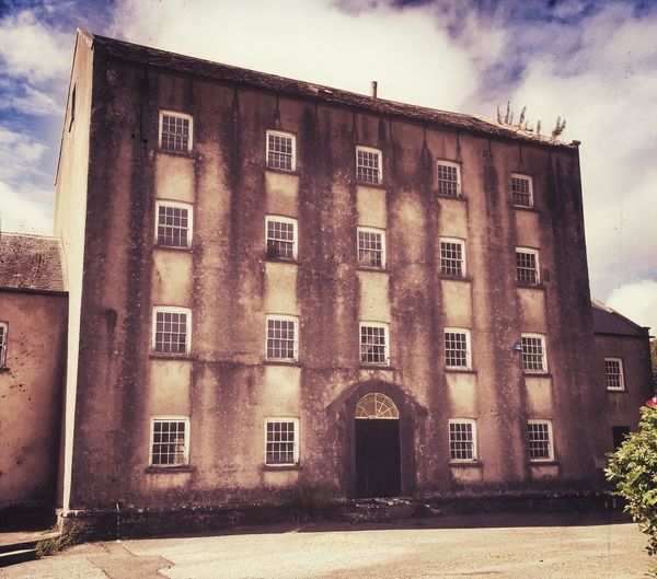 Deserted mill Pembrokeshire Blackpool Mill Deserted Haunted Neglected Architecture Old Buildings Once Loved Thearchitect-2015EyeEmAwards