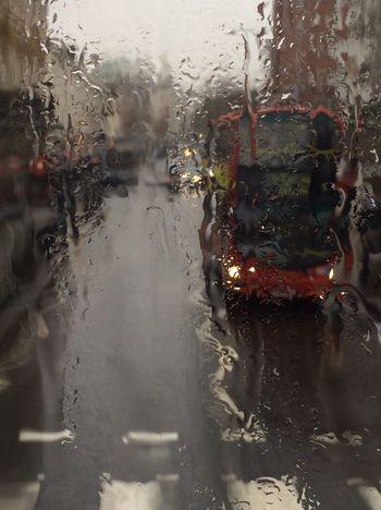 Rain King's Road EyeEm LOST IN London Postcode Postcards