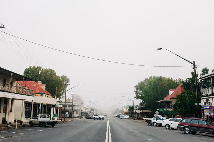 Main street of