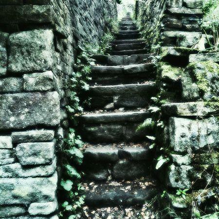 Behind Hebden Bridge. Yorkshire Naturehippys Stairsandsteps Stone Steps