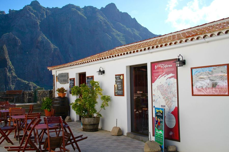 Architecture Built Structure Cafe Canary Islands Day Europe Masca Masca, Tenerife Mountain Mountain Range Nature No People Outdoors Tenerife Tourism Town Travel Destinations