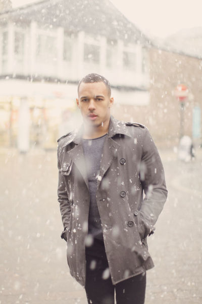 Buxton in the Snow Buxton Snow ❄ Winter Yorkshire Cold Temperature Day Focus On Foreground Front View Handsome Lifestyles One Person Outdoors Real People Snow Snowfall Snowy Standing Water Weather Wet Winter Young Adult Young Women