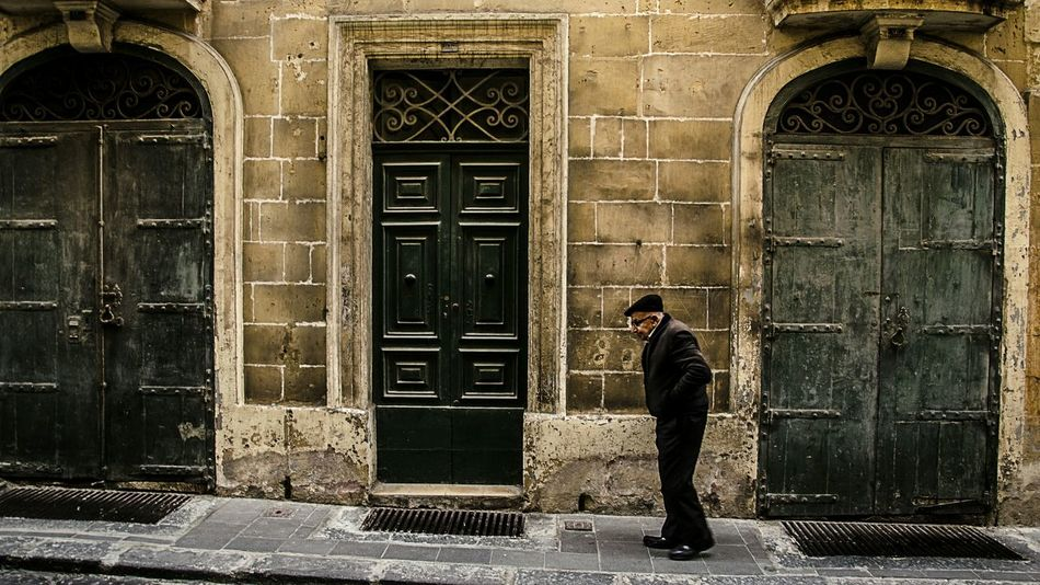 Malta EyeEm Best Shots Traveling Eye4photography  The EyeEm Facebook Cover Challenge Valetta Old Man The Human Condition The Traveler - 2015 EyeEm Awards The Street Photographer - 2015 EyeEm Awards