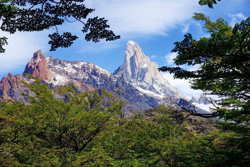 Los Huemules Landscape Beauty In Nature Argentina Patagonia Los Huemules Alpine Fitzroy Snow Travel Photography