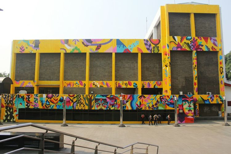 Mural Colorful Street Art Streetphotography Graffiti Architecture Building Exterior My Best Travel Photo