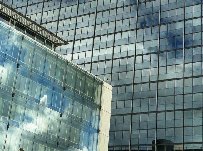 Urban Geometry Hamburg Sky Reflection_collection Architectural Detail Close-up Windows Buildings & Sky EyeEmBestPics Jopesfotos - Buildings