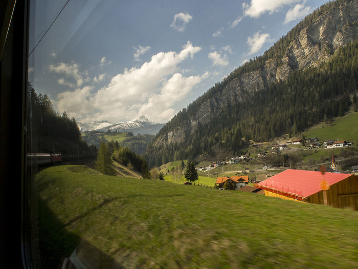 From train