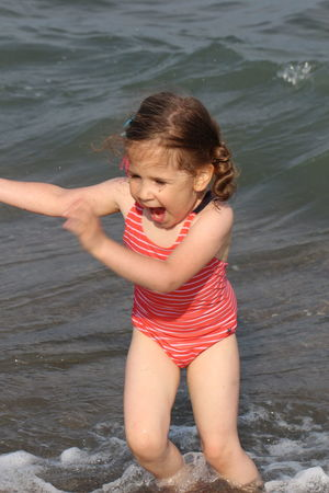 EyeEm Selects Water Child Portrait Childhood Beach Smiling Sea Girls Summer Sand