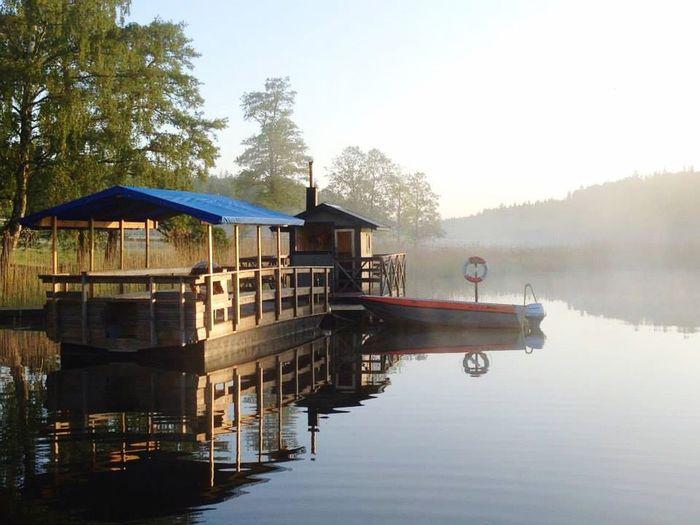 Early Morning Lake Lakeside