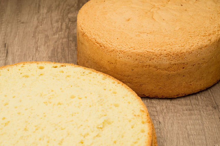 Backery Bizcocho Bizcochuelo Bäckerei Cake Circles Close-up Cooked Küche Sliced Sweet Torte