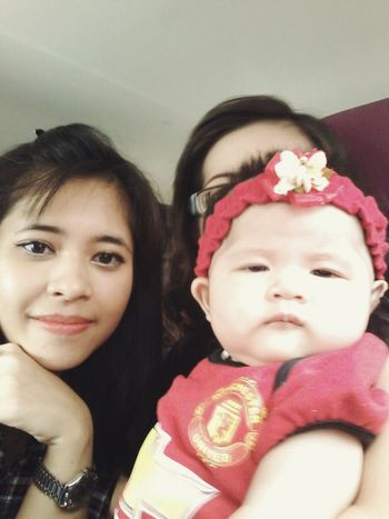 With Baby sachii