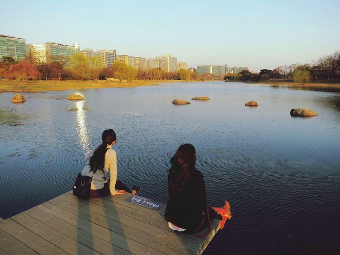 Capturing Freedom Urban Escape Lake Korea Ilsan  Enjoying Life