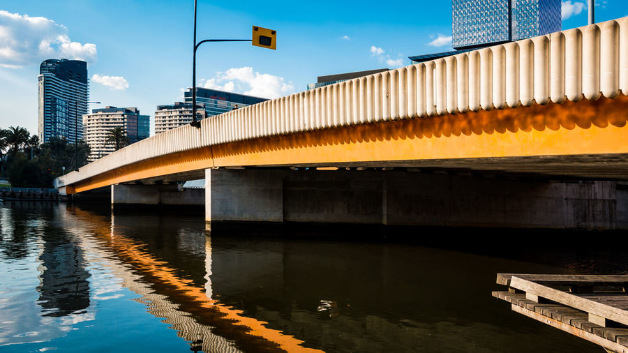 Architecture Bridge Nature City Building Day Waterfront Water Reflection Sky Melbourne Melbourne City EyeEmNewHere