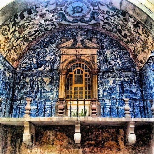 Óbidos PortadaVila Portugal Azulejos
