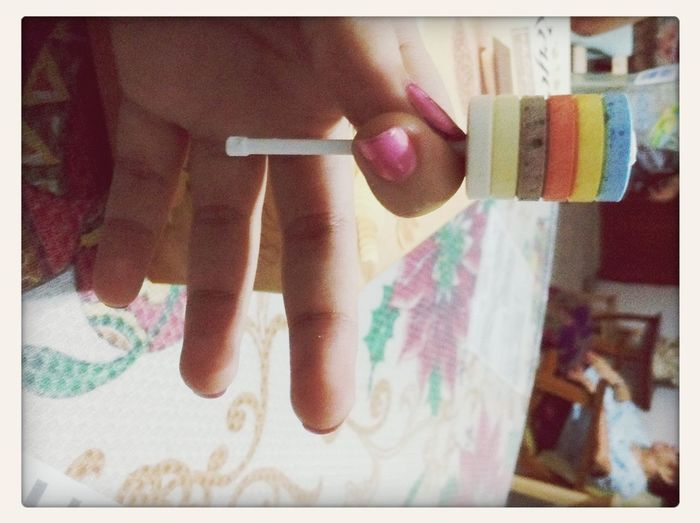 Imagine a lollypop... My Candies