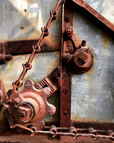 Metal Rusty No People Day Abandoned Old Close-up Weathered Deterioration Machinery Run-down Damaged