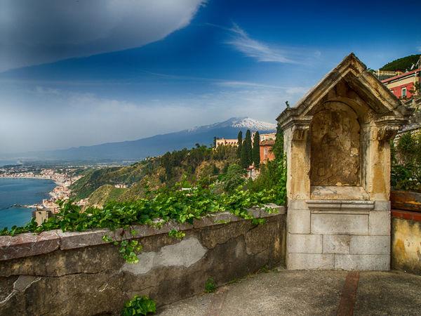 Cloud - Sky Day Etna, Mountain, Sicily, Holiday Italy🇮🇹 Landscape Mountain Nature Outdoors Sea And Sky Seascape Photography Sicily, Italy Sky And Clouds Taormina Taormina And Etna