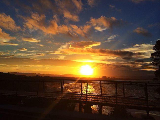 Sunset over the Bay Soaking Up The Sun Sunrise_sunsets_aroundworld EyeEm Best Shots - Sunsets + Sunrise Eyem Best Edits