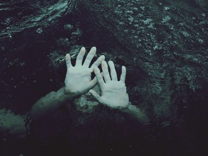 Underwater Sea Ocean Hand