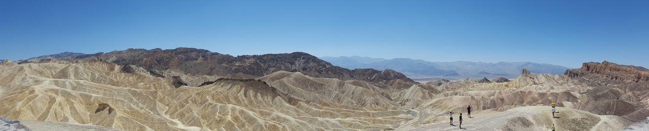 Death Valley Geology Heat Mountain Natural Landmark Rock Rocky Zabriskie Point