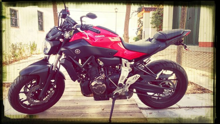 Yamaha Mt-07 Darksideofjapan Motorcycle