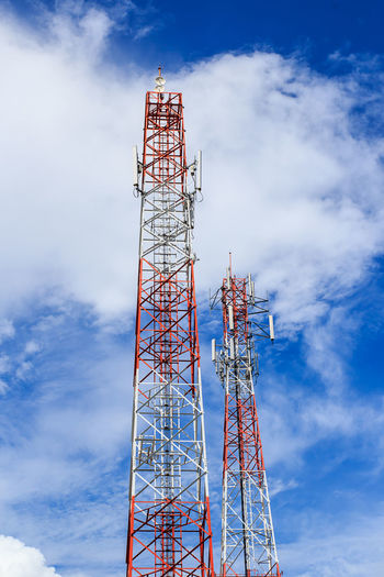 Broadcasting Tower Steel Business Telephone Gsm Old Cellular Technology Equipment Receiver Frame Electromagnetic Mobile Architecture Transmitter Color Outdoors Station Transmission Microwave Radio Wireless Signal Construction Metal Network Aerial Frequency White New Repeater Building Modern Blue Sky Global Phone Industry Telecommunication Pattern Structure Communication Antenna