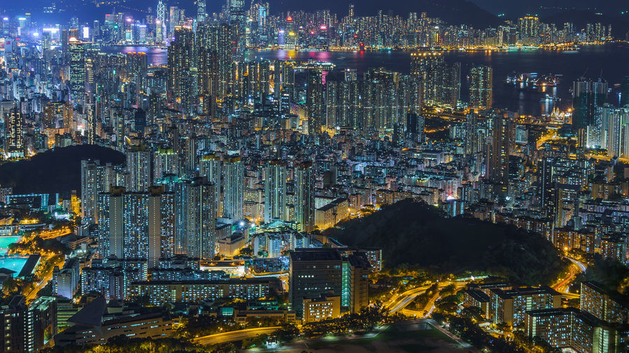 The Vivid Night neon neon life The Architect - 2018 EyeEm Awards Neon Neon Lights Urbanphotography Urban Sprawl Kowloon Night City Nightlife Hong Kong HongKong EyeEmNewHere Night Density Vivid The Traveler - 2018 EyeEm Awards City Cityscape Illuminated Skyscraper Urban Skyline Architecture Building Exterior Built Structure