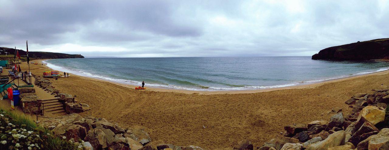Sea Beach Sand Horizon Over Water Shore Water Nature