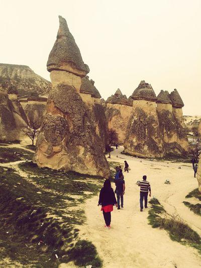 Peribacaları Kapadokya Kapadokya,Göreme,Turkey Cappadocia Capadocia Göreme Peribacalari Nevsehir Turkey Huawei HuaweiP9 Pyramid Full Length History Sunset Adventure Sky Travel Architecture Go Higher