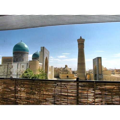 Architecturestylesgf Gang_family Gf_daily Bukhara uzbekistan mir-i-arabmadrassa throwbackthursday