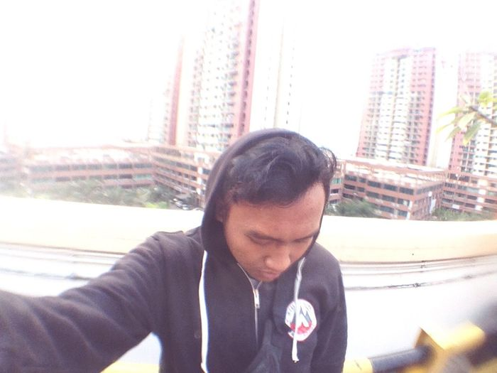 That's Me From The Rooftop Hello World Work