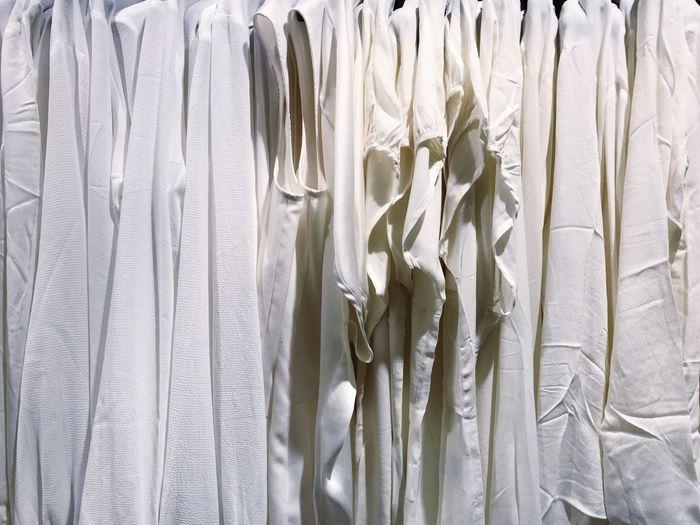 Full frame shot of clothing