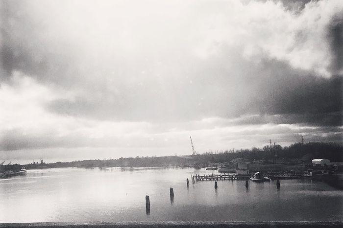 North Carolina River View Bridge Eye4photography  EyeEm Best Shots EyeEmBestPics Ships Sunshine