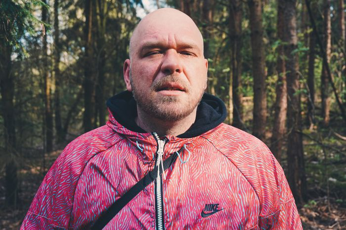 Portrait Sun Forrest Woods Wildlands  Green Wood Nature Man Shorthair Nike Pink Blue Sky Sunlight Sunshine Sony A5100 Germany