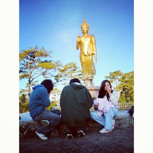 รูปเก่าๆกับเพื่อนๆที่ภูกระดึง Makha Bucha Phukradung Mountain buddha loei thai thailand