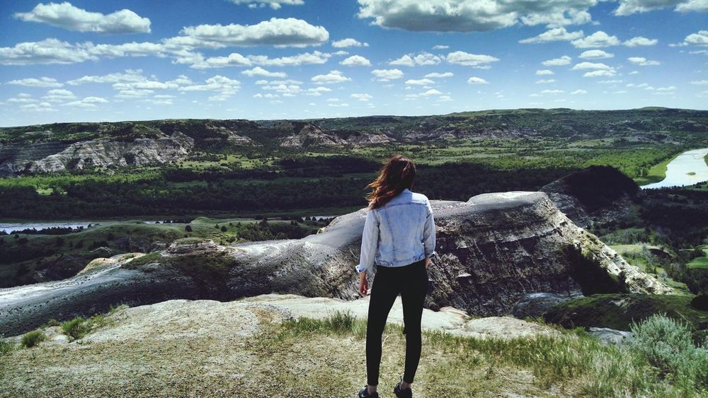 At this majestic place// Theodore Roosevelt National Park