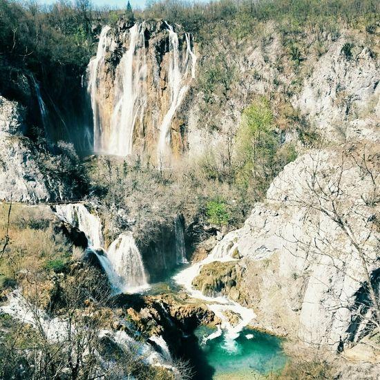 Cascades Splitvice With Family Holiday Love Croatia