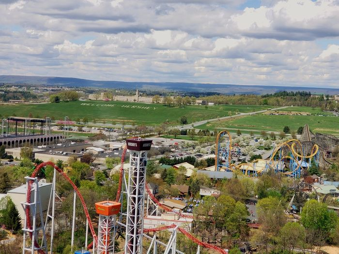 Amusement Park Agriculture Sky Cloud - Sky Landscape