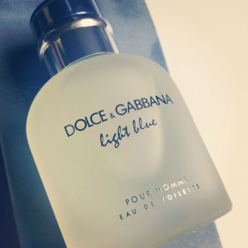 At least something is light blue today. Dolceandgabbana  Fragrance