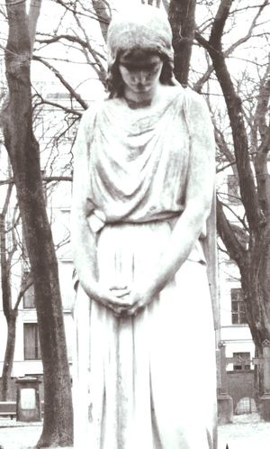 Cemetery Statue Angel Demon The Human Condition Monochrome Blackandwhite Streetphotography Portrait Art