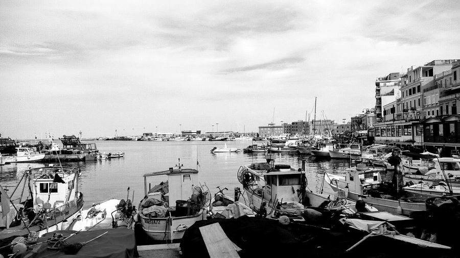 Boats Seascape