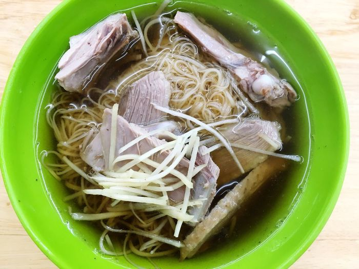 鴨肉麵線~ Dinner Food And Drink Noodles Shulin Taiwan