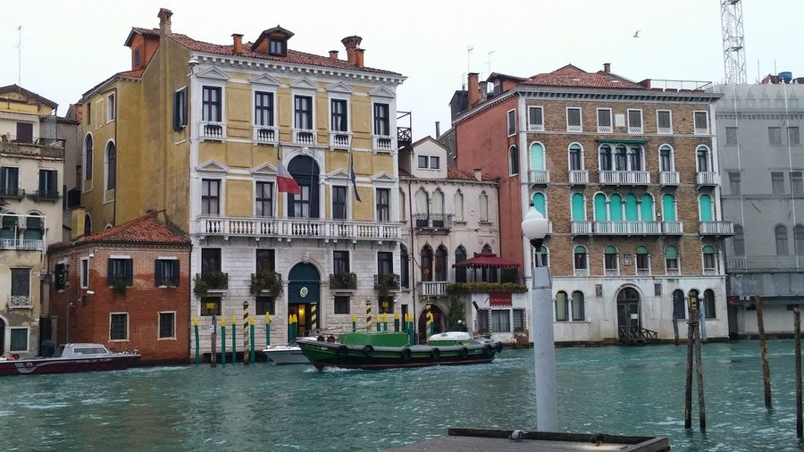 Venice Italy River View EyeEm Nature Lover Boat Riverside Relaxing December 2015